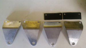 Legshield accessory brackets
